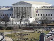 Amenințare cu bombă la Curtea Supremă SUA