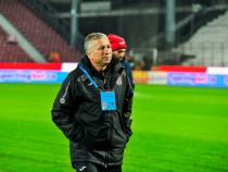 Dan Petrescu, criticat de Radu Banciu după ce a mers în Turcia. Sursa: Facebook CFR Cluj