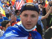 Activistul de mediu Daniel Bodnar a fost rănit grav într-un accident rutier. Foto: Facebook Daniel Bodnar