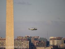 Donald Trump a plecat cu elicopterul de la Casa Albă