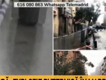 Explozie în Madrid / Captură Antena 3