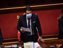 Giuseppe Conte, în fața Senatului