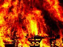 Incendiu în Capitală, vineri seara
