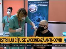 Ministrii Cabinetului Cîţu s-au vaccinat anti COVID-19