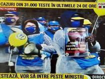 Cadrele medicale PROTESTEAZĂ la Guvern. Vor să discute cu Raluca Turcan și Vlad Voiculescu