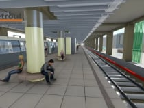 Incep lucrarile la o noua statie de metrou in Bucuresti