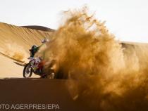 Pierre Cherpin la Raliul Dakar.