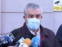 Călin Popescu-Tăriceanu, declarații după ce a fost la DNA / Foto captură Antena 3