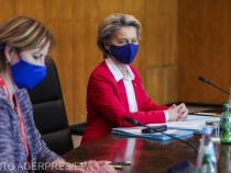 Ursula von der Leyen cu mască. Pariul pierdut de eurocraţi, plătit de europeni