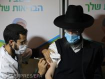 Continuă campania de vaccinare anti-Covid din Israel.