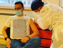 Covid-19. Ciutacu s-a vaccinat / FOTO