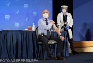 Dr. Anthony Fauci a spus cât de eficient este vaccinul împotriva noii tulpini de coronavirus
