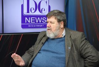 Bogdan Hossu, interviu la DC News / Foto: Crișan Andreescu