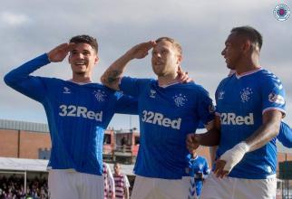 Glasgow Rangers și Ianis Hagi sunt de neoprit în Scoția. Prestație fascinantă în victoria cu 5-0 contra Ross County - Video