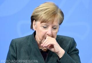 Merkel și lockdown