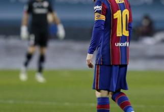 Messi și-a primit pedeapsa. A fost suspendat după gestul și eliminarea din meciul cu Athletic Bilbao / Foto Agerpres