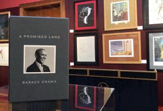 Pământul Făgăduinței,de Barack Obama, a fost vândută în peste 3,3 milioane de exemplare