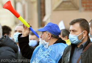 Proteste de amploare în Capitală.