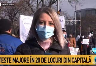 Proteste 24 ianuarie 2021