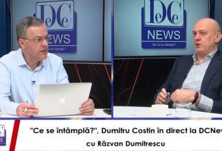 """Dumitru Costin, invitat în emisiunea """"Ce se întâmplă?"""" de la DC News"""