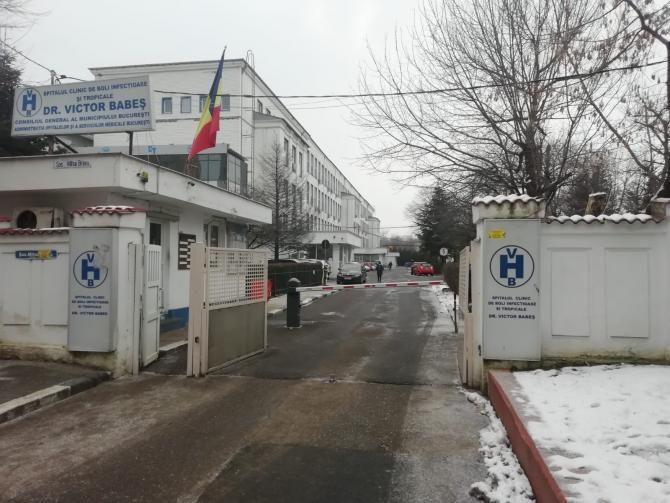 """Spitalul de Boli Infecțioase și Tropicale """"Victor Babeș""""  Foto: Crișan Andreescu"""