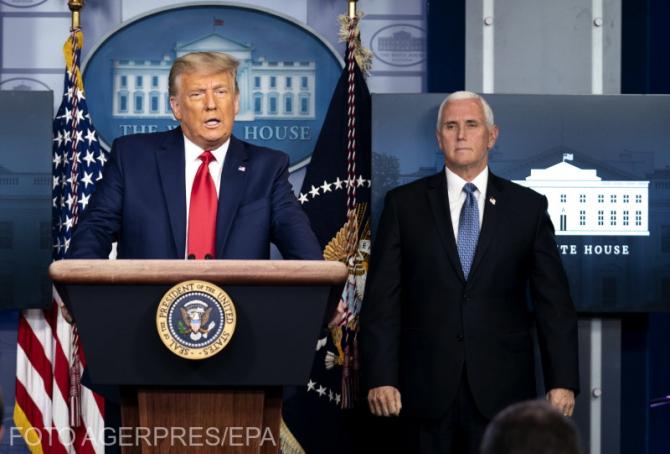 Mike Pence nu intenţionează să îl îndepărteze din funcţie pe Donald Trump