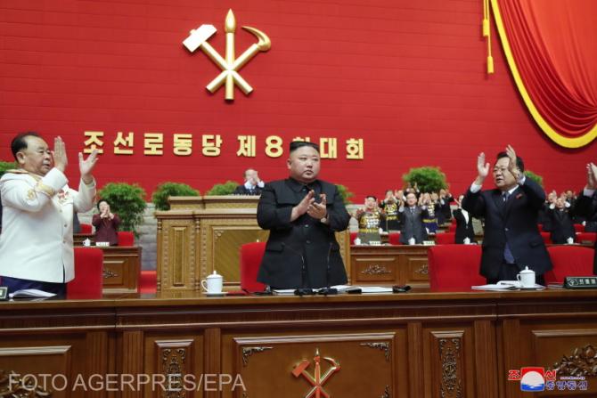 Kim Jong ales secretar general al Partidului Muncitorilor
