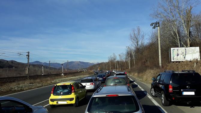 Trafic aglomerat pe DN1 / Arhivă Foto