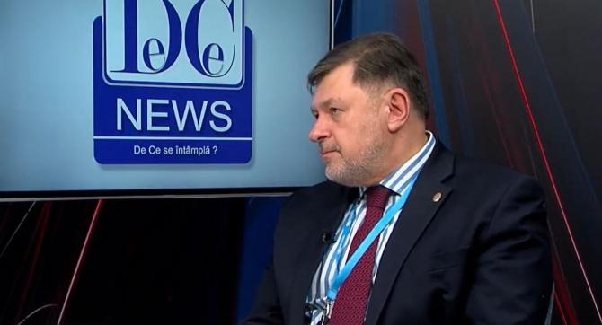 Alexandru Rafila, în platoul DC News TV