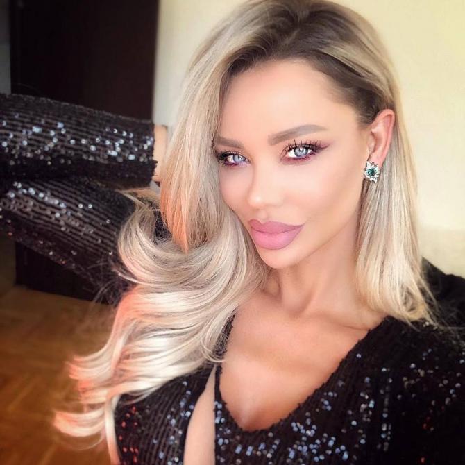 Bianca Drăgușanu a ajuns la poliție, miercuri seară / Foto arhivă - Instagram Bianca Drăgușanu