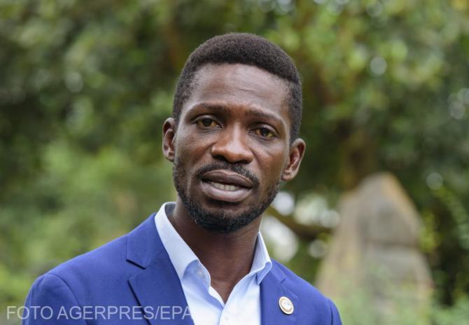 Bobi Wine, principalul membru al opoziției din Uganda