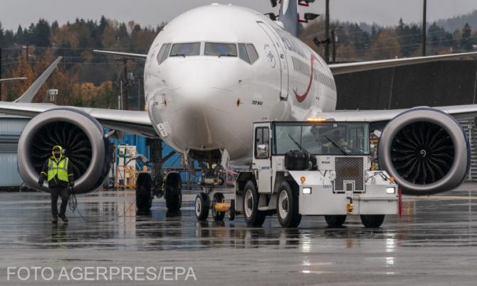 Boeing 737 Max are permisiune să zboare din nou în Europa. Foto cu caracter ilustrativ.