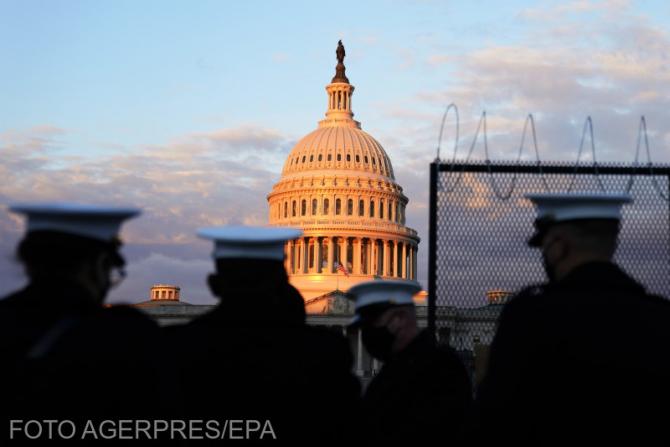 """Capitoliul Statelor Unite, în stare de urgență după """"o amenințare externă"""""""