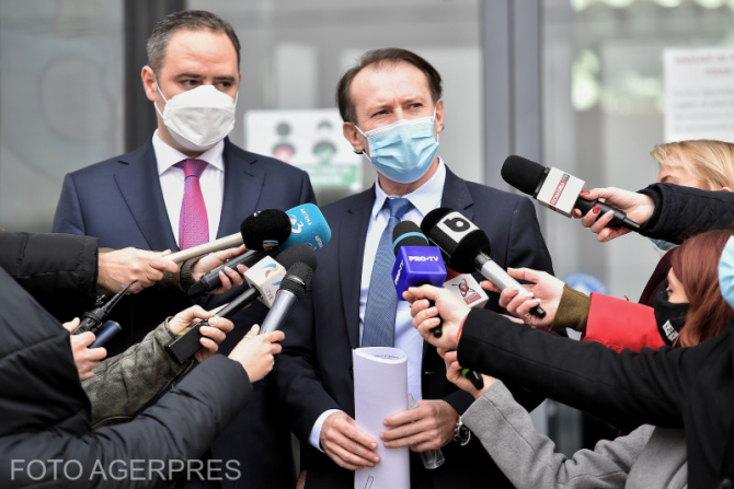 Florin Cîţu afirmă că programările la vaccinarea anti-COVID-19 merg bine