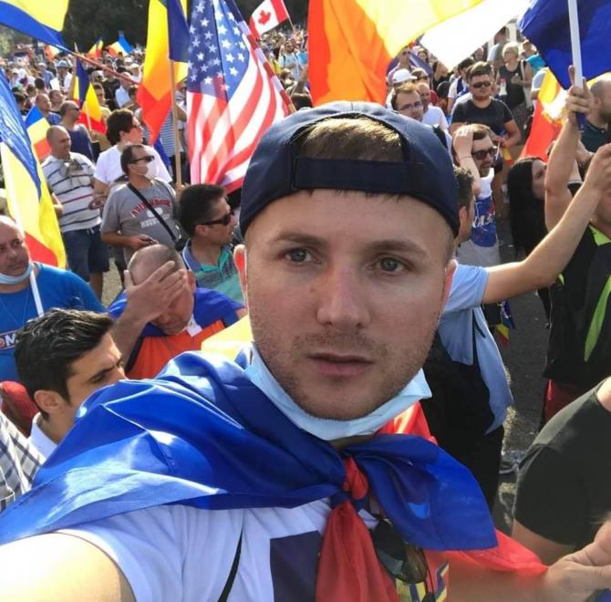 Daniel Bodnar a fost operat la coloană. Sora activistului: Dumnezeu își va face partea Lui, cu siguranță! Sursă foto: Facebook Daniel Bodnar