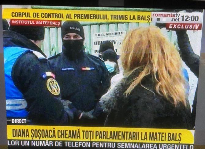 Diana Șoșoacă vrea să intre la Balș / Captură România TV