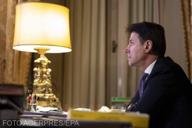 Premierul Italiei, Giuseppe Conte, și-a dat demisia