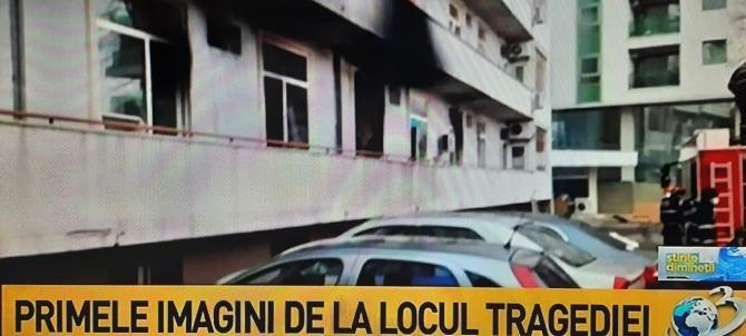 Primele imagini de la locul tragediei de la 'Matei Balș' unde patru pacienți au murit