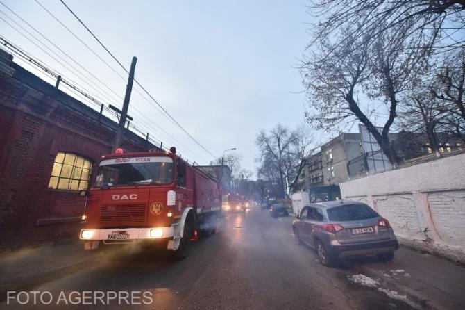 Institutul Matei Balş, fără autorizaţie la incendiu