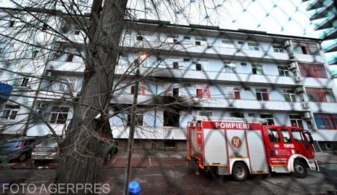Incendiu la Matei Balș, vineri dimineață