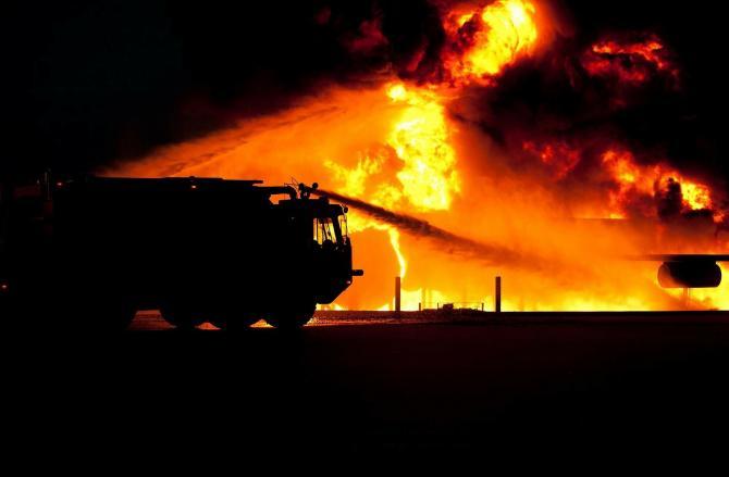 Incendiu la o pensiune din Mehedinţi. Sursa: Pixabay