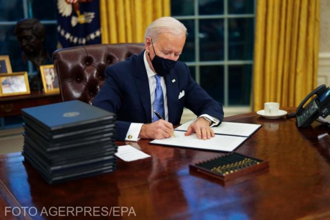 Joe Biden a discutat cu Boris Johnson despre acordul comercial dintre SUA și Marea Britanie