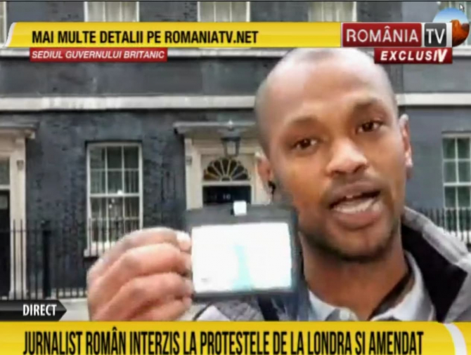 Captură video RomâniaTV