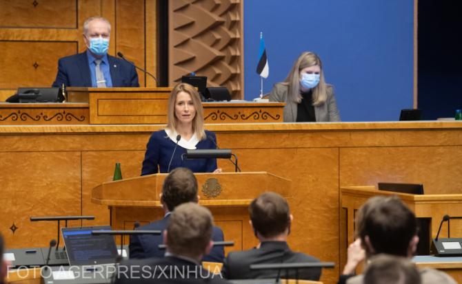 Kaja Kallas, prima femeie premier din istoria Estoniei