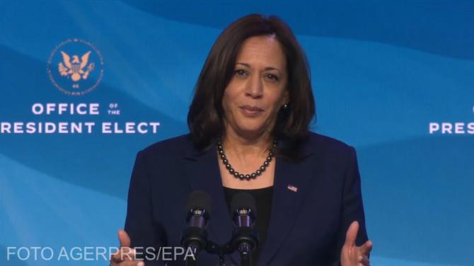 Kamala Harris, surpriză la învestirea lui Biden