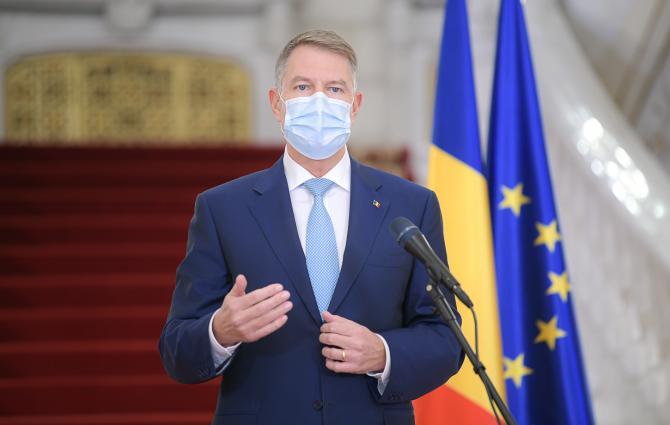 Klaus Iohannis, președintele României. Foto: presidency.ro