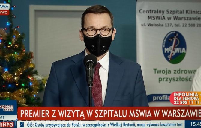 Premierul Poloniei, Mateusz Morawiecki, îi ia apărarea lui Donald Trump în războiul cu rețelele de socializare