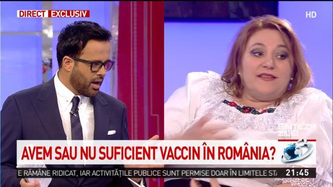 Mihai Gâdea şi Diana Şoşoacă, replici aprinse în direct