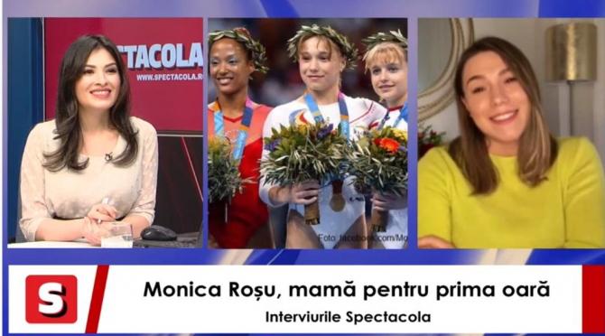 Monica Roșu, pe ultima sută de metri de sarcină. DEZVĂLUIRI despre viața de viitoare mămică. Interviurile Spectacola și DC News
