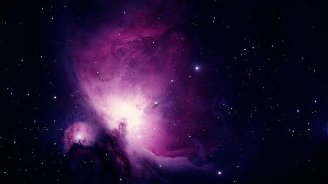 Nebuloasa Orion. Sursa foto: Pixabay.